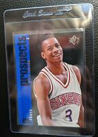 1996 UPPER DECK SP #141 ALLEN IVERSON ROOKIE CARD RC SIXERS HOF MINT