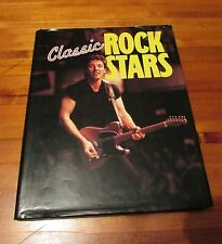 Classic Rock Stars by Peter Herring 1990 Springstein/Bono Dust Jacket Great Gift