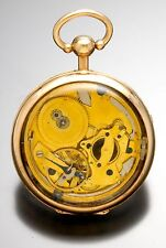 BREGUET POCKET WATCH | ORIGINAL BREGUET QUARTER HOUR REPEATER WITH DISPLAY CASE