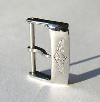 18mm Breitling Dornschliesse Stiftschliesse Buckle poliert neu new DS 18-04