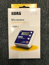 Korg MCM-1 Micrometer Metronome Blue Beat Keeper  Brand New!