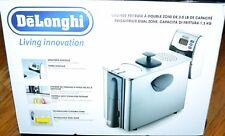 DeLonghi Living Innovation Dual Zone Deep Fryer 1500W D14527DZ 3lb Capacity
