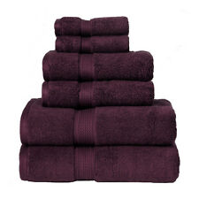 Impressions 900GSM 6 PC SET PL 900GSM Egyptian Cotton 6-Piece Towel Set