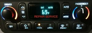 REPAIR & Custom LED Backlight UPGRADE 97-04 C5 Corvette Digital Climate Control