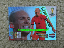 Panini Adrenalyn XL WM 2014 FIFA World Cup Brasil 14 ROBBEN - LIMITED EDITION