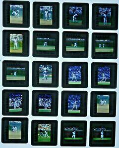 JTM6-13 80s-90s Baseball Chicago Cubs Dunston Matthews (100pc) ORIG 35mm Slides