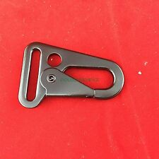 "2 pcs  HK H&K Style 1"" Sling Clips Spring Snap Hook Strap Attachment"