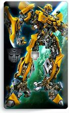 TRANSFORMERS AUTOBOT BUMBLE BEE PHONE JACK TELEPHONE COVER BOYS ROOM HOME DECOR