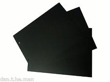 New listing 30 Glen Postcard / Cigarette Card Album Black Dividers
