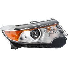Front Headlamp Headlight For 2011-2013 Ford Edge Right Hand Passenger Side