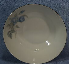 "Hutschenreuther Alicia Blue Rose 9"" Round Vegetable Serving Bowl"