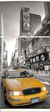 Sticker frigo électroménager déco cuisine New York taxi 70x170cm réf 532