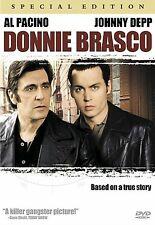 Donnie Brasco DVD Special Collectors Edition Al Pacino Johnny Depp Widescreen
