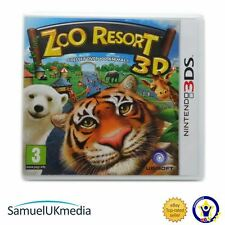 Zoo Resort 3D (Nintendo 3 DS) ** EXCELLENT ÉTAT **