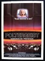 Werbeplakat Dämonische Poltergeist Teilnahme Spielberg Steven M312