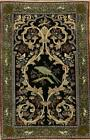 Excellent Antique Masterpiece Wool/ Silk Najafabad Hand-knotted Area Rug 3'x5'