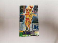 Cleveland Force 1986/87 MISL Indoor Soccer Pocket Schedule - Society Bank