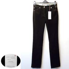 Corduroy Straight Leg High Rise Jeans for Women