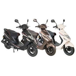 GMX 460 Sport 25 km/h sparsamer Motorroller Mofaroller Rollershop Euro 5 Norm