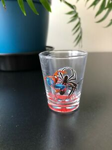 Universal Studios Orlando Florida SPIDER-MAN Short Shot Glass Cordial Souvenir