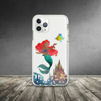Ariel Disney Girl Princess Case For iPhone SE XR 11 Pro Xs Max X 8 7 6s Plus