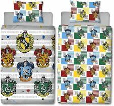 Harry Potter House Crest Reversible Single Duvet Kids Comfortable Bedding Set