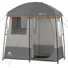 Ozark Trail 2-Room Non Instant Shower Tent Changing Room Outdoor Tents Camping