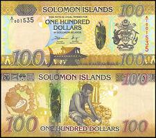 Solomon Islands 100 Dollars, 2015, P-NEW, UNC