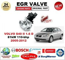 FOR VOLVO S40 II 1.6 D 81kW 110-bhp 2005-2012 EGR VALVE 5PIN with GASKETS/SEALS