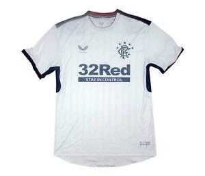 Rangers 2020-21 Original Away Shirt (Good) XXL Soccer Jersey