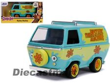 Jada 1:32 Hollywood Rides Scooby Doo Mystery Machine Diecast Model Car 32040