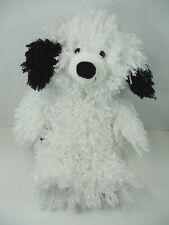 "Hallmark Black and White Plush Mop Sheep Dog 14"" Komondor"