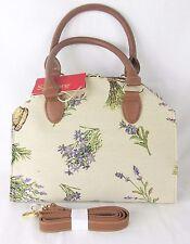 Lavender Flower Design & Stylish Tapestry Handbag or Shoulder Bag Signare