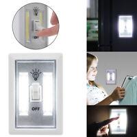 1/2/5x COB LED Wall Switch Wireless Battery Operated Closet Cordless Night Light