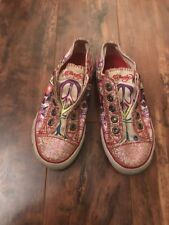 Ed Hardy Kids Shoes size  13 Pink Sparkle