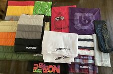 Huge Lot Of Pottery Barn Teen BURTON Snowboard Bedding Pillow Cases SAMPLES Rare