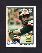 1978 Topps Eddie Murray RC #36