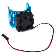 For 1/10 RC Car Aluminum Heat sink For 540 550 3650 Motor With 5V Cooling Fan