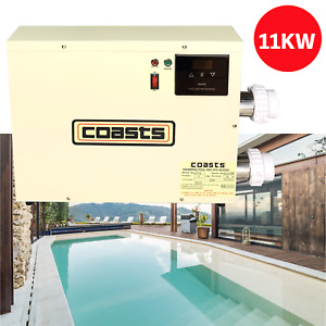 220V 11kW Digital Electric Water Swimming Pool Heater Thermostat Spa Tub Jacuzzi