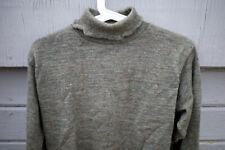 Wooly Warm Rivendell wool turtleneck sweater M - pure wool rivbike