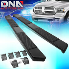 For 2009 2015 Dodge Ram Truck Crew Cab 5 Coated Ss Step Nerf Bar Running Boards Fits Dodge Ram 1500