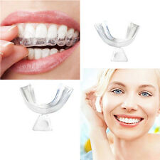 Thermoform 3x Mouth Teeth Dental Trays Whitener Tooth Whitening Moldable Guard.
