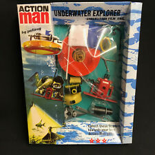 ACTION MAN 40th ANNIVERSARY - UNDERWATER EXPLORER FILM UNIT CARDED