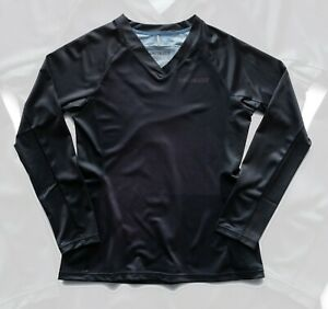Specialized Women's Andorra Long Sleeve Cycling Jersey Black Mirror - XL