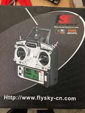 Flysky FS-T6 2.4GHz 6CH Transmitter Radio *Note Receiver Pictures & description