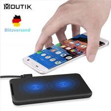 Qi Wireless Ladestation Ladegerät kabellos Induktion Für iPhone Samsung Huawei
