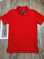 Under Armour 1279759 Men's Size S Red Tactical Performance Loose-Fit Polo Shirt