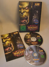 PC juego Game Warcraft 3 III & The Frozen Throne TFT