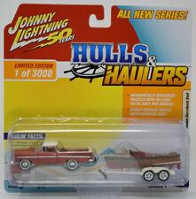 Johnny Lightning 1959 Chevy El Camino w/wooden boat Hulls & Haulers MOC