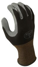 Atlas Fit 370 Showa Black X-Large XL Nitrile Gardening Work Gloves, 6-Pairs